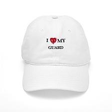 I love my Guard hearts design Baseball Cap