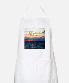 MIRACLES HAPPEN Apron