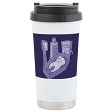 Tooth funeral Travel Coffee Mug