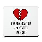 Broken.Hearted Mousepad