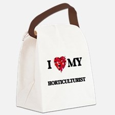 I love my Horticulturist hearts d Canvas Lunch Bag