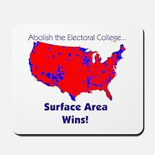 George Bush- Surface Area Wins Mousepad