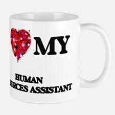 I love my Human Resources Assistant hea Mug