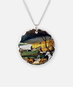 Noah's Ark, painting by Edwa Necklace