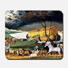 Noah's Ark, painting by Edward Hicks Mousepad