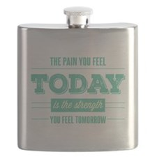 Pain Today Strength Tomorrow Flask