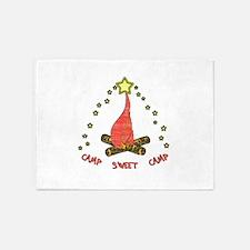 Camp Sweet Camp 5'x7'Area Rug