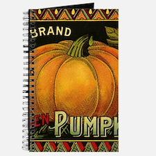 Vintage Fruit Crate Label Journal