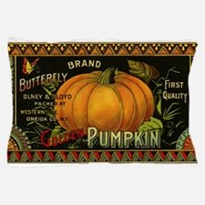 Vintage Fruit Crate Label Pillow Case