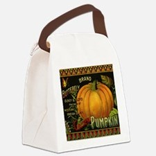 Vintage Fruit Crate Label Canvas Lunch Bag