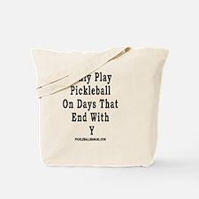 Funny Pickleball Tote Bag