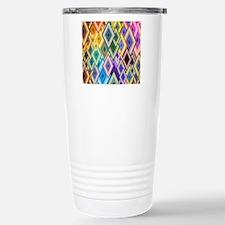 Geometrical Shapes Background Travel Mug