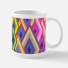 Geometrical Shapes Background Mugs