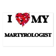 I love my Martyrologist h Postcards (Package of 8)