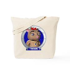 Twink's Blue Portrait Tote Bag