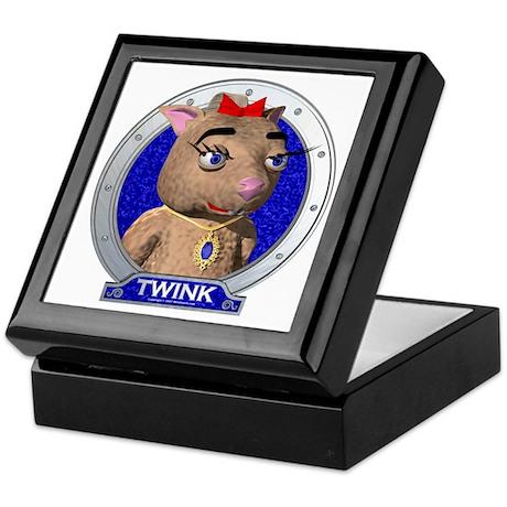 Twink's Blue Portrait Keepsake Box