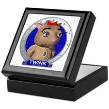 Twink's Blue Portrait Keepsake Box