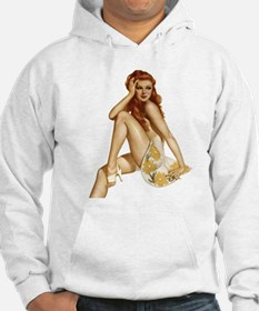 Red Head Pin Up Hoodie