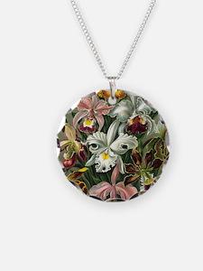 Vintage Orchids Necklace