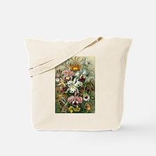 Vintage Orchids Tote Bag