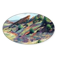 Red Rocks Park Decal
