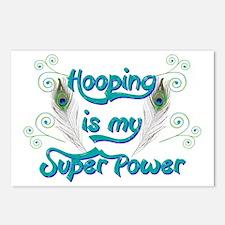 Hula Hooping is My Super  Postcards (Package of 8)