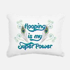 Hula Hooping is My Super Rectangular Canvas Pillow