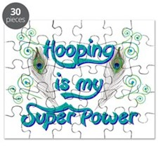 Hula Hooping is My Super Power Puzzle