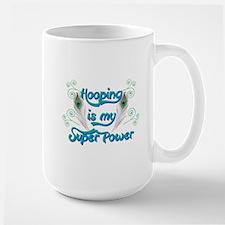 Hula Hooping is My Super Power Mugs