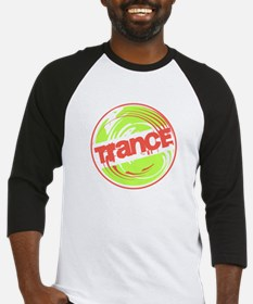 Trance Stop - Green & Red Baseball Jersey