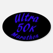 50 K Ultra Marathon Decal