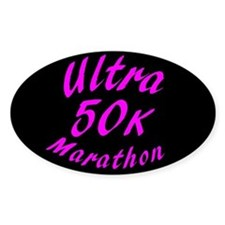 50 K Ultra Marathon Decal