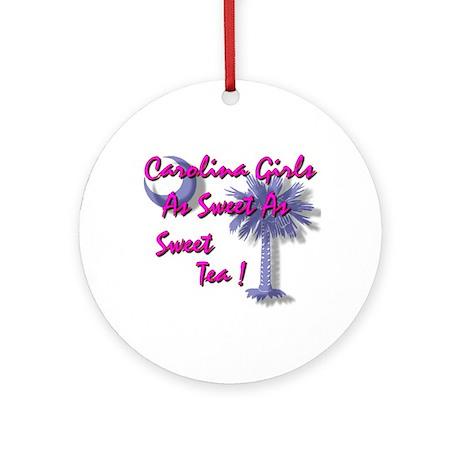 Carolina Girl Ornament (Round)