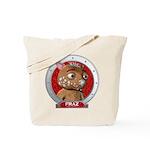 Fraz's Red Portrait Tote Bag