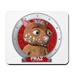 Fraz's Red Portrait Mousepad