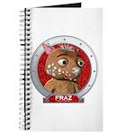 Fraz's Red Portrait Journal