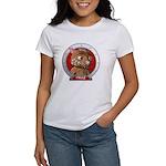 Fraz's Red Portrait Women's T-Shirt