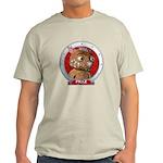 Fraz's Red Portrait Tee-Shirt Light Colored