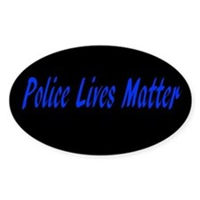 Police Lives Matter Decal