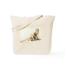Nude Girl Tote Bag