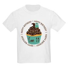 11th Birthday Cupcake T-Shirt