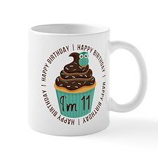 11th Birthday Cupcake Mug
