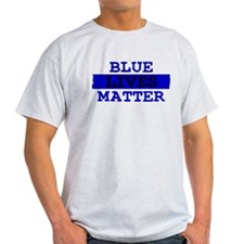 Blue Lives Matter Thin Line T-Shirt