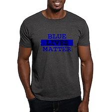 Blue Lives Matter Thin Line T-Shirt