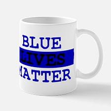 Blue Lives Matter Thin Line Mug