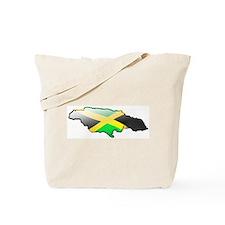 """Jamaica Bubble Map"" Tote Bag"