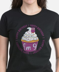 9th Birthday Cupcake Tee