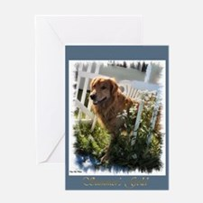 Summer's Gold Greeting Card
