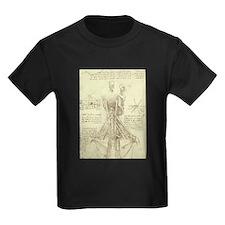 Spinal Column by Leonardo da Vinci T-Shirt