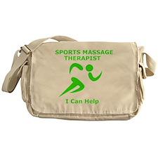 Massage Therapist Eye Catching Desig Messenger Bag